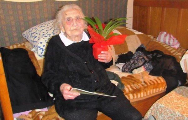 На Берегівщині привітали бабусю-довгожительку з 104-м днем народження (ФОТО)