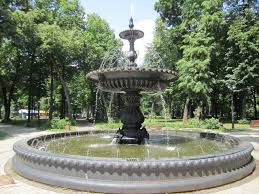 В центірі Берегова, гості міста купаються у фонтані (відео)