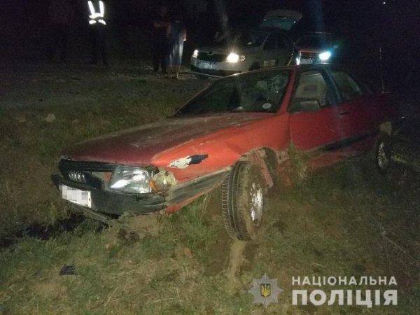 На Закарпатті два нетверезі водії вчинили ДТП на дорогах